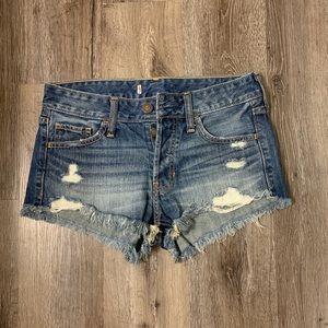 Hollister High Rise Boyfriend Shorts